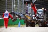 F1 | アロンソ、3700万円のクラッシュで奇跡的にエンジンは無事