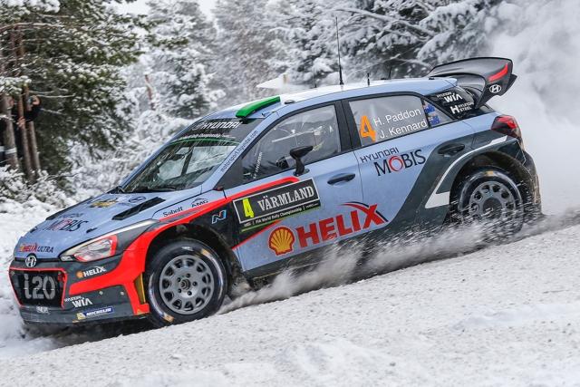 ラリー/WRC | WRC第2戦スウェーデン SS17後 暫定結果