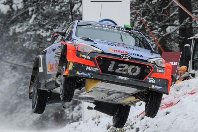ラリー/WRC | WRC:ヒュンダイ若手が首位と17秒差をキープ