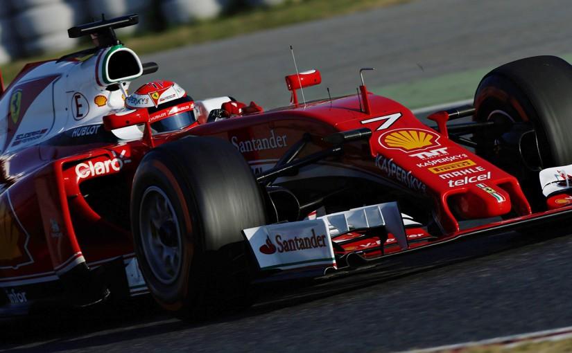 F1   「メルセデスに勝てるマシンかどうか、わからない」とライコネン