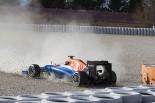 F1 | ハリアント、再びスピン。クラッシュで走行終了
