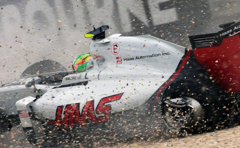 F1 | 撤去時のクレーンで損傷。グティエレス、モノコックを交換