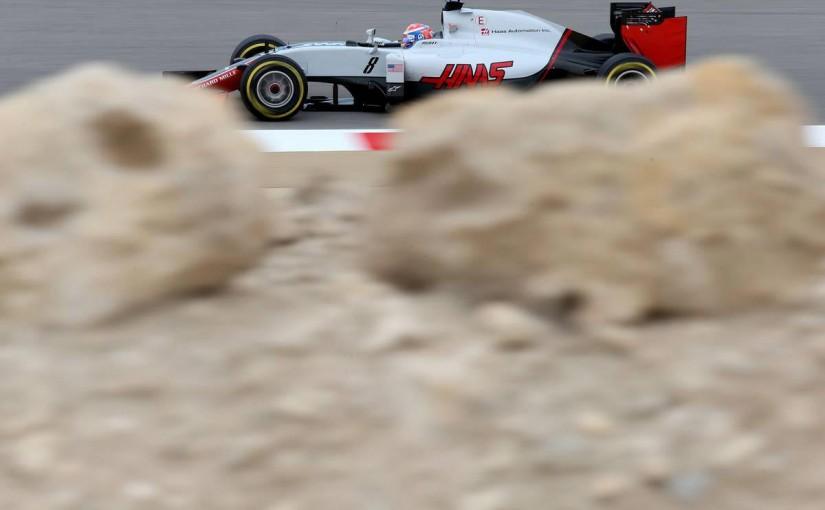 F1   「ウイング破損はあったがトップ10狙える速さ感じる」:ハースF1 バーレーン金曜