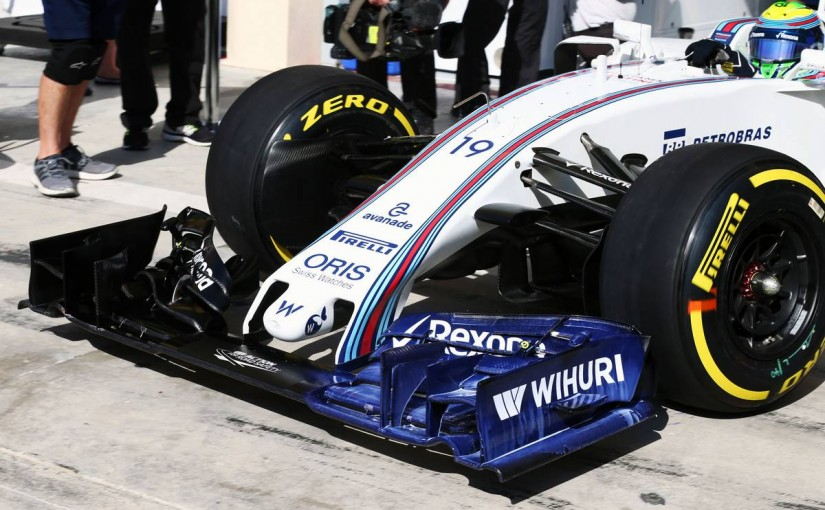 F1   ウイリアムズの新型フロントノーズが到着、フリー走行3回目でマッサがチェック