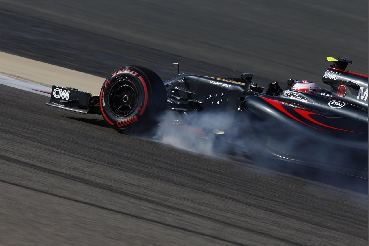 2016年第2戦バーレーンGP ジェンソン・バトン(マクラーレン・ホンダ)
