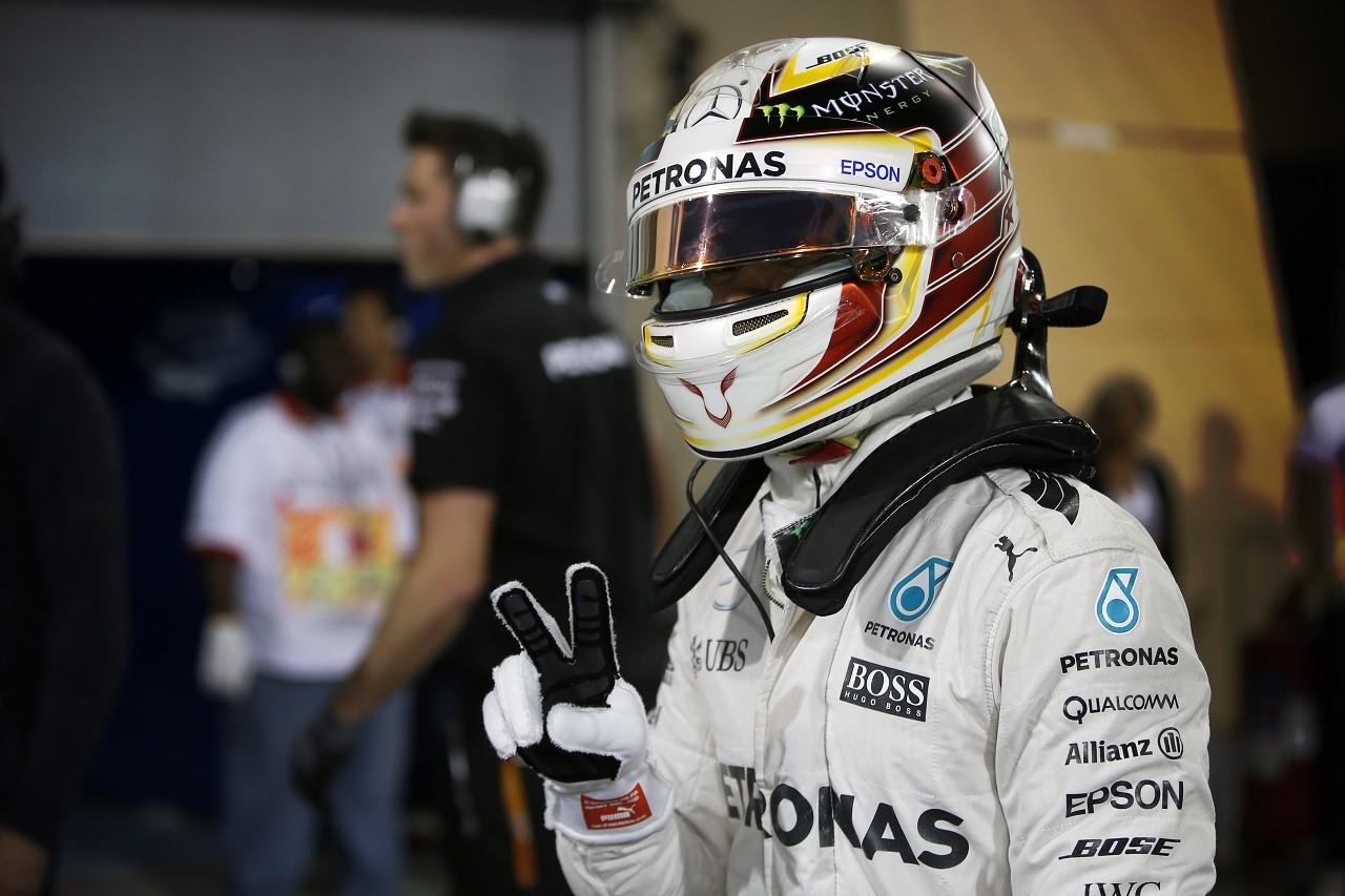 2016年第2戦バーレーンGP ルイス・ハミルトン(メルセデス)