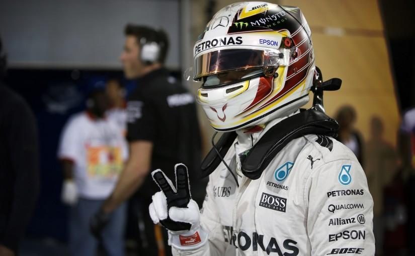 F1 | ハミルトン「V10時代より速いなんて! この1周だけうまくいった」:メルセデス バーレーン土曜