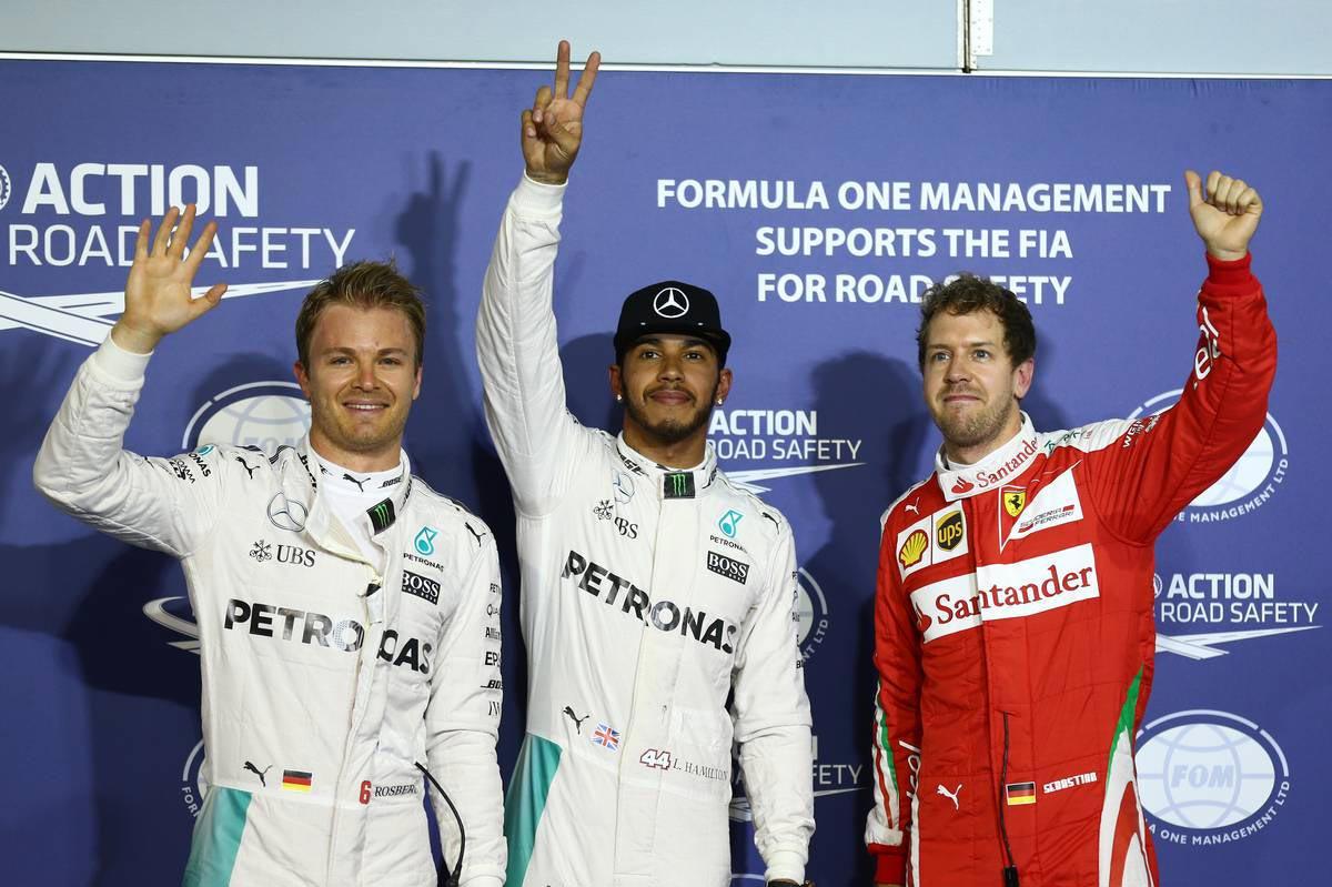 2016年F1第2戦バーレーンGP 予選