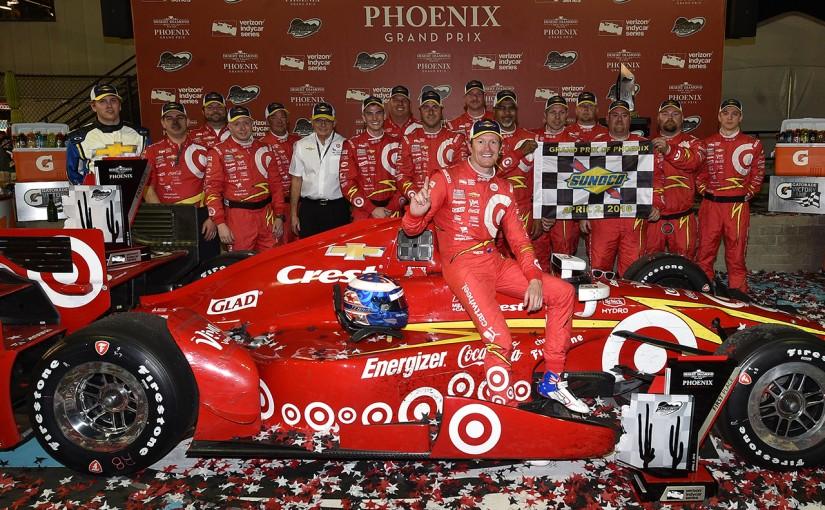 海外レース他 | インディ第2戦:1マイルオーバルバトルは王者ディクソンが制し、歴代4位に並ぶ39勝目を挙げる
