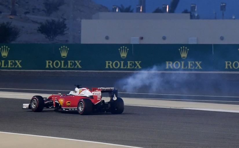 F1 | ベッテル、フォーメーションラップでエンジントラブル!