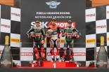 MotoGP | SBK第3戦アラゴン レース2:デイビスが独走でダブルウィン