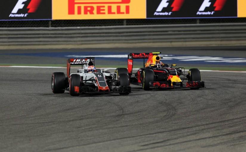 F1   グロージャン「実力の5位。まさにアメリカンドリームだ」:ハースF1 バーレーン日曜