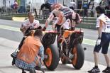 MotoGP | MotoGP第2戦アルゼンチンGP 決勝トップ3コメント:マルケス「ウエットパッチが残っていたから危険だった」