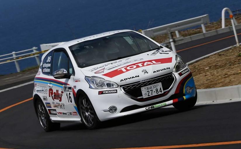 ラリー/WRC   プジョー、国内初登場の208 R2で全日本ラリーに参戦
