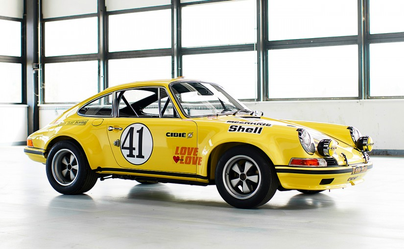 ル・マン/WEC   ポルシェ・クラシックが72年ル・マンクラス優勝車を完璧にレストア