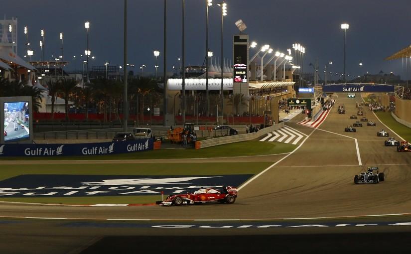 F1   ベッテル、早くもエンジン交換へ。バーレーンのトラブル原因が判明