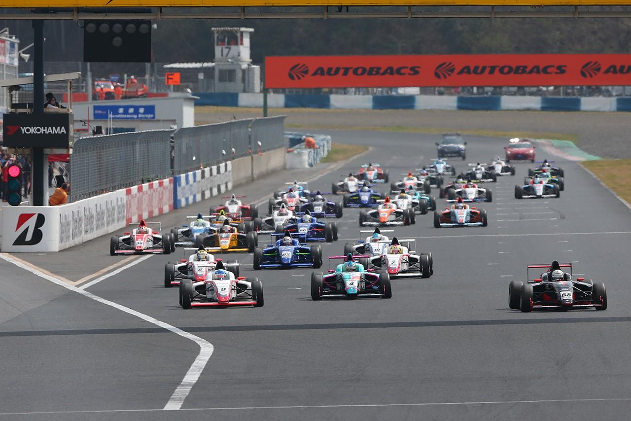 【順位結果】FIA-F4選手権岡山:第1戦 決勝
