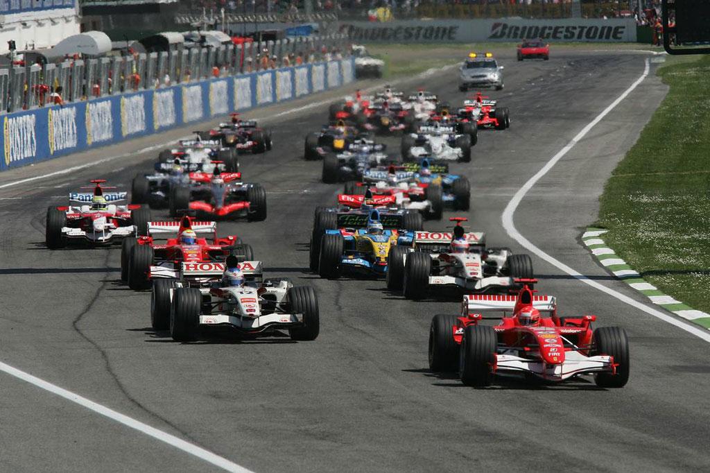 2006年 イモラで開催されたサンマリノGP