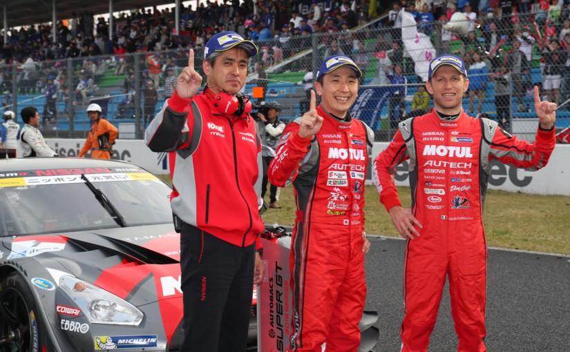 スーパーGT | SGT開幕戦岡山決勝:GT500はMOTUL GT-Rが逆転V。激戦の2位争いは平川が千代の猛攻退ける