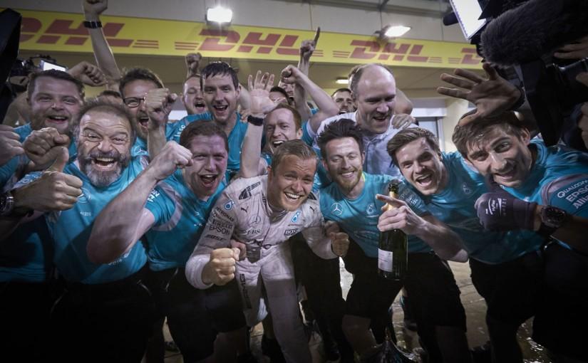 F1 | ロズベルグ、メルセデスとの契約延長をほのめかす