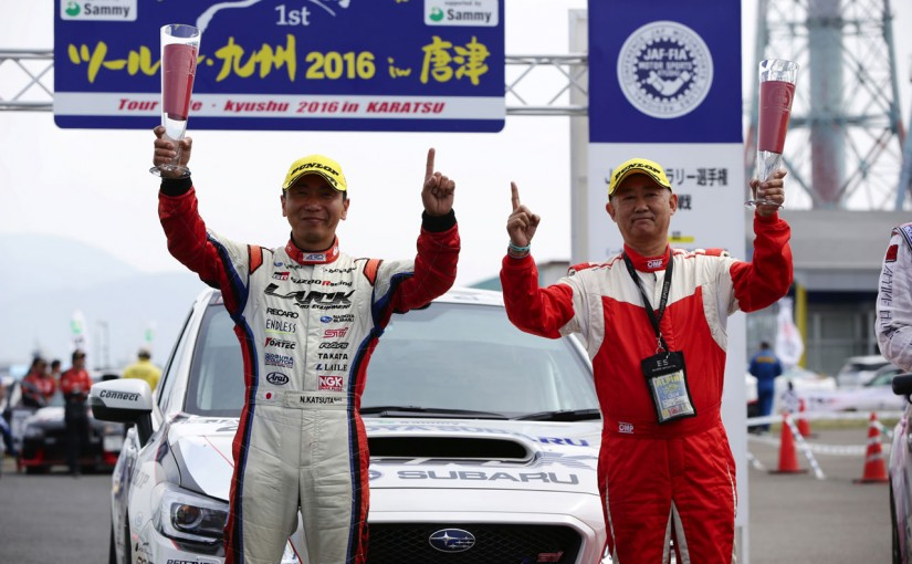 ラリー/WRC | JRC第1戦:勝田範彦がツール・ド・九州11連覇達成