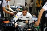 2016年中国GP 出場へのゴーサインを待つフェルナンド・アロンソ