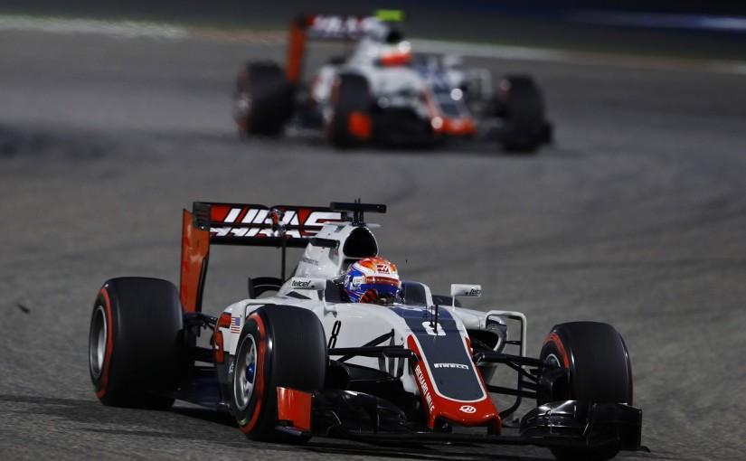 F1 | ハースがトラブル発生のウイングを一新。「平等に」2台分導入
