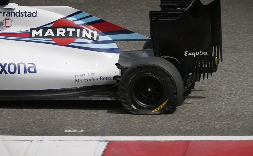 F1   「2回のパンクの原因はセットアップ上のミス」:ウイリアムズ 中国GP金曜