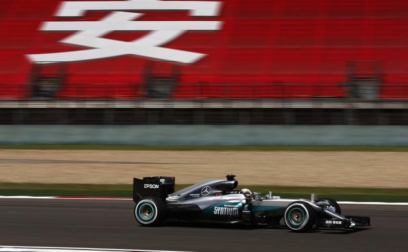 F1 | ハミルトン「今や僕らがフェラーリを追う立場」:メルセデス 中国GP金曜