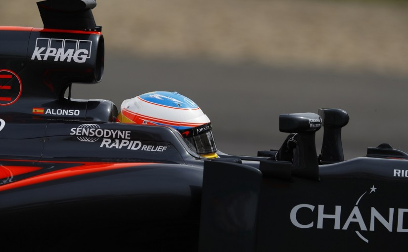 F1   アロンソ「26日間、どんなに走りたかったか!」:マクラーレン・ホンダ 中国GP金曜