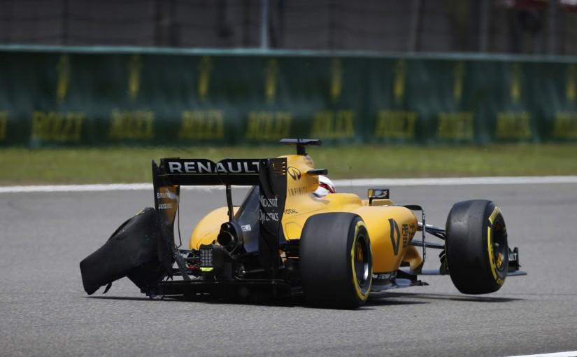F1 | 「サスペンショントラブルが原因でパンク」:ルノー 中国GP金曜