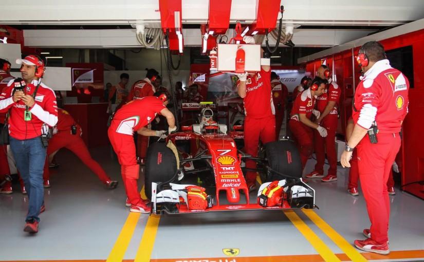 F1   フェラーリがワンツー! ライコネン唯一の36秒台で初日を終える