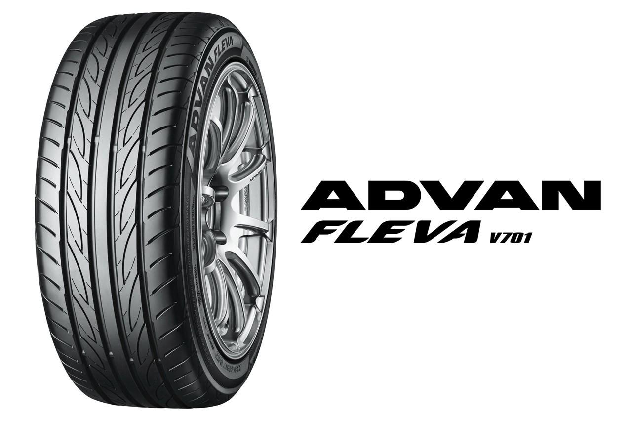 ヨコハマからハイパフォーマンス・スポーティー・タイヤ「ADVAN FLEVA V701」新発売