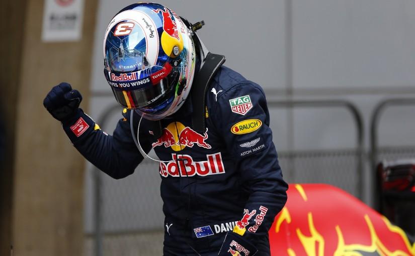 F1 | リカルド「2位は全く予想外。髪型のおかげかもね!」:レッドブル 中国GP土曜