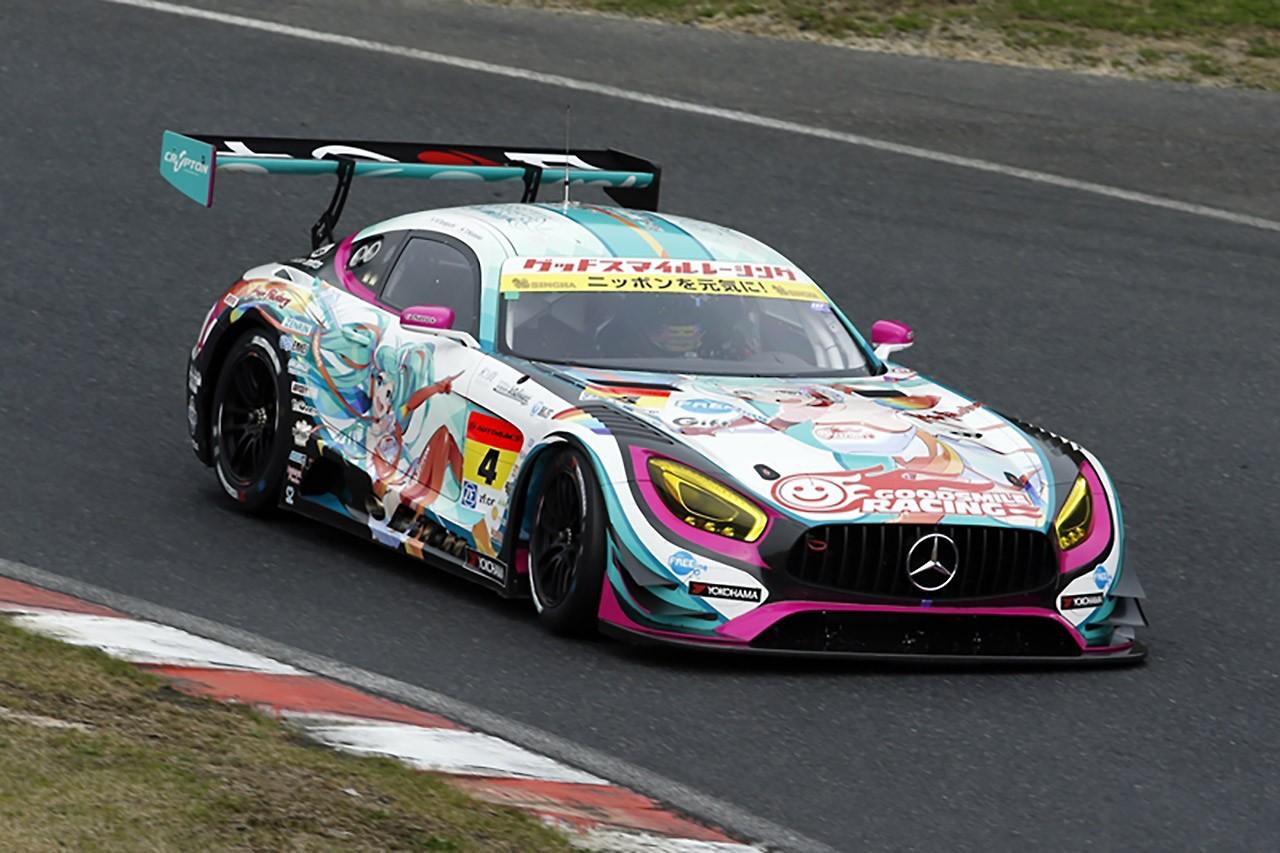 グッドスマイル 初音ミク AMG スーパーGT第1戦岡山レースレポート