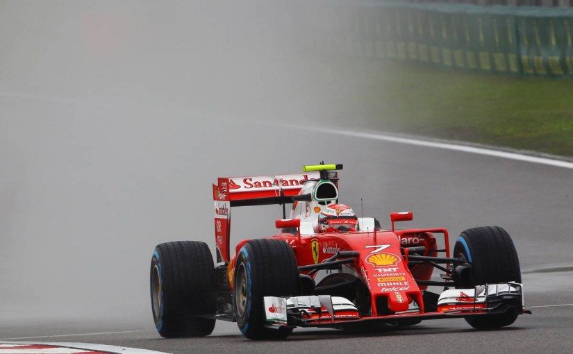 F1 | 予選Q2速報:ヒュルケンベルグのタイヤ脱落で再び赤旗、フェラーリ2台がトップ通過