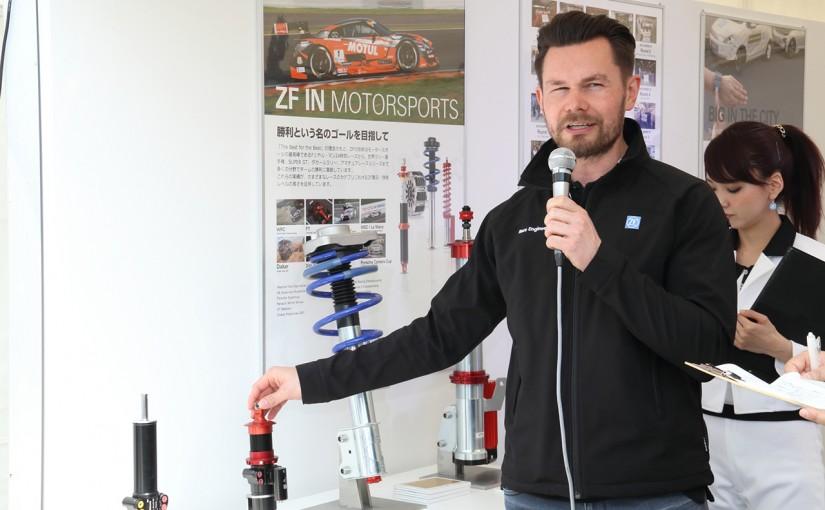 国内レース他 | ZFブースにF1の実物パーツなどが展示/モータースポーツジャパン
