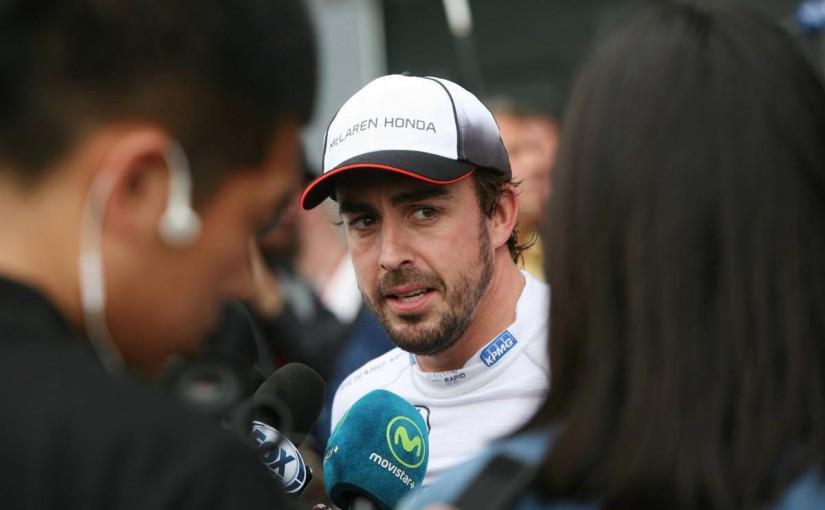 F1   唸り声をテレビ中継で流されたアロンソが、FOMに不満