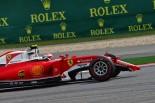 2016年第3戦中国GP 接触でフロントウイングを壊したキミ・ライコネン(フェラーリ)