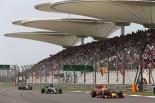 F1   【ポイントランキング】F1第3戦中国GP終了時点