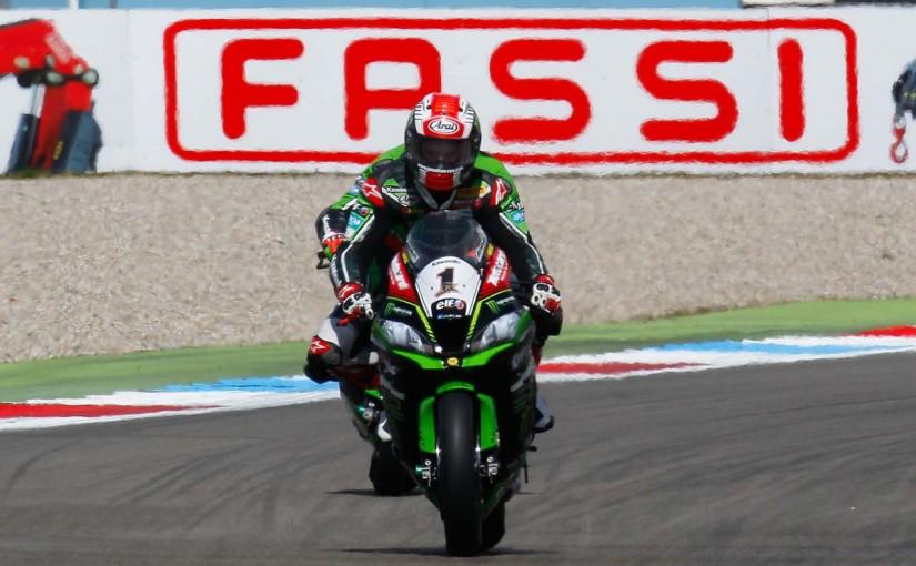 MotoGP   SBK第4戦オランダ レース2:カワサキのジョナサン・レイが逆転優勝でダブルウイン