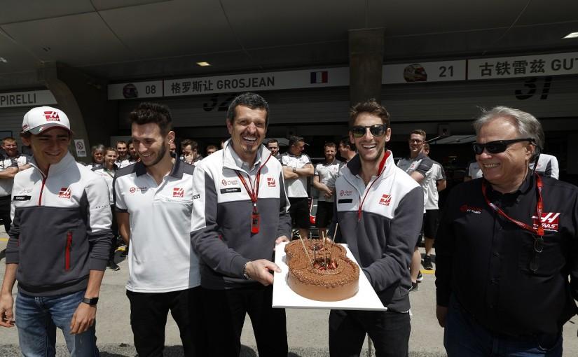 F1   グロージャン「誕生日にふさわしいレースができなかった」:ハースF1 中国GP日曜