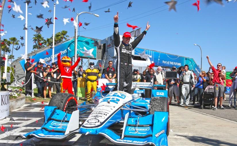 海外レース他 | インディ第3戦:ペジナウが念願の移籍後初勝利。琢磨は得意コースで健闘
