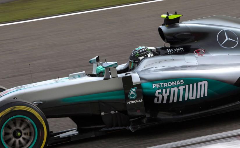 予選Q2から、決勝のスタートを見据えていたニコ・ロズベルグ