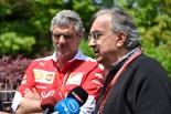 2016年中国GP フェラーリ会長セルジオ・マルキオンネとチーム代表マウリツィオ・アリバベーネ