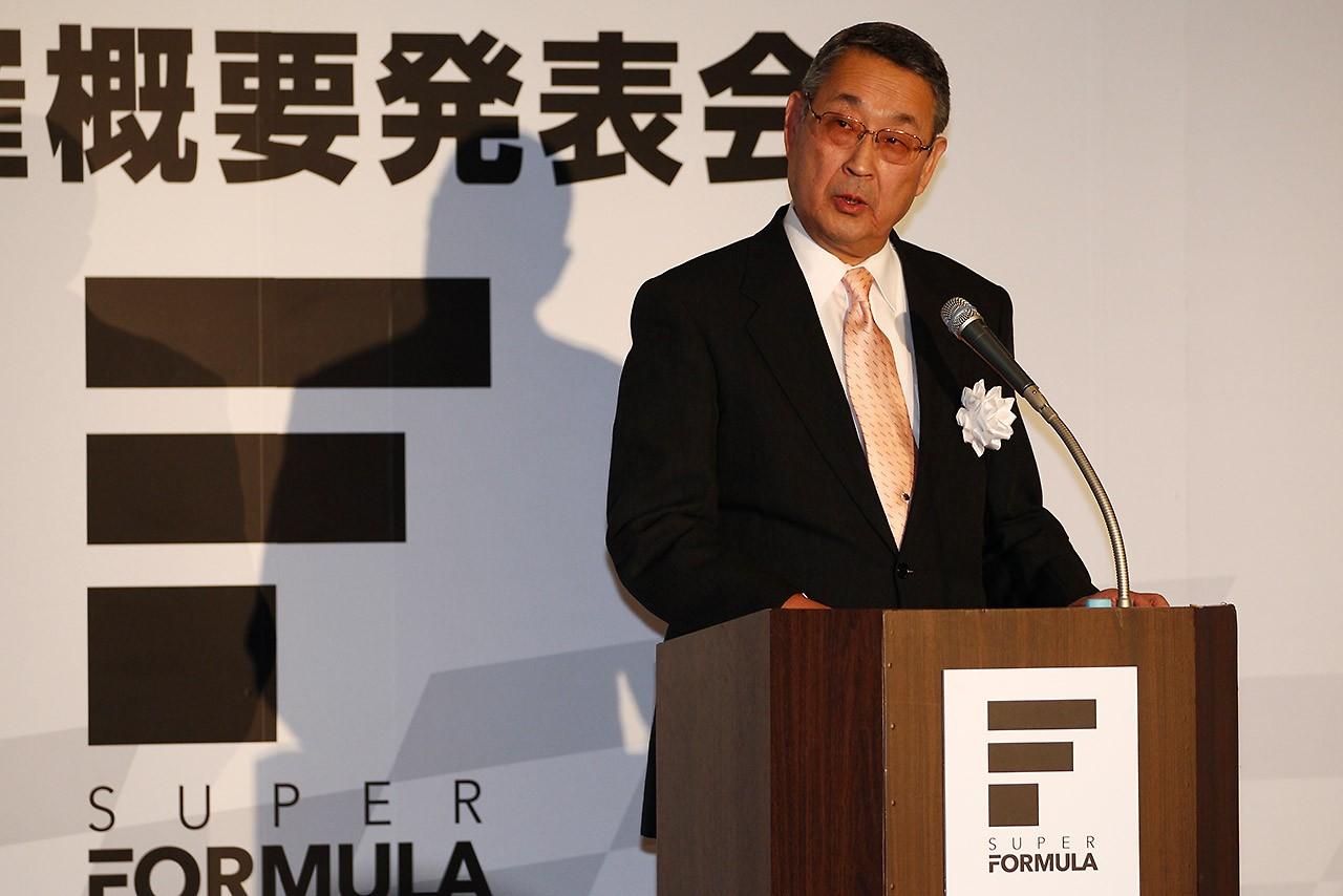 スーパーフォーミュラ:JRP白井裕社長が退任。倉下明新社長が就任