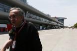 中国GPを訪れていたフィアット・グループのトップ、セルジオ・マルキオンネ