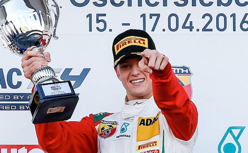 F1 | ミック・シューマッハー、イタリアに続きドイツF4開幕戦でも優勝