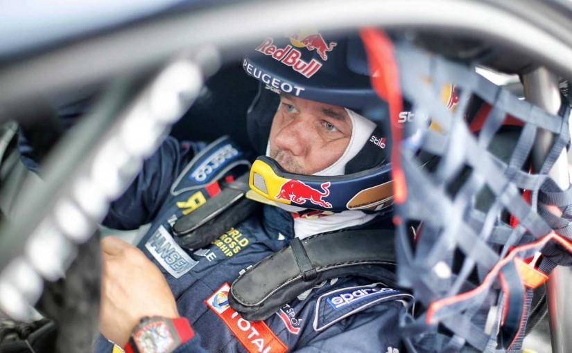 ラリー/WRC | チーム代表、ラリークロス開幕戦で5位獲得のローブを絶賛。「衝撃の新人!」