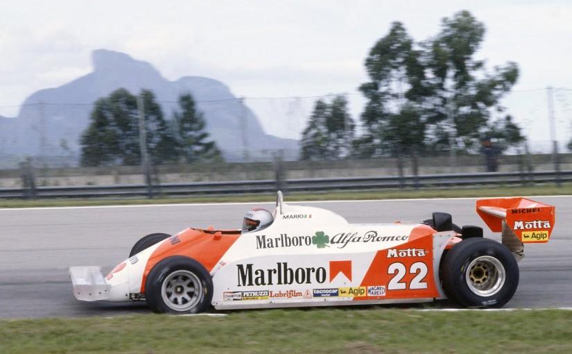 1981年マリオ・アンドレッティ(アルファロメオ179C)
